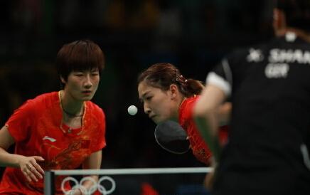 第17金!中国女乒团体3:0胜德国成功摘金