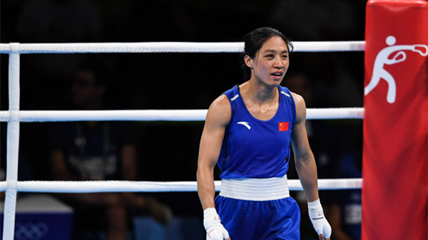 女子拳击51公斤铜牌得主任灿灿 输掉全世界也不能输掉你自己