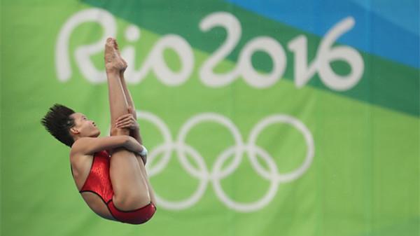 完美体现梦之队标准 任茜成中国首个00后奥运冠军