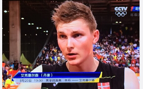 【里约现场】今天的羽毛球混合区都在讲中文