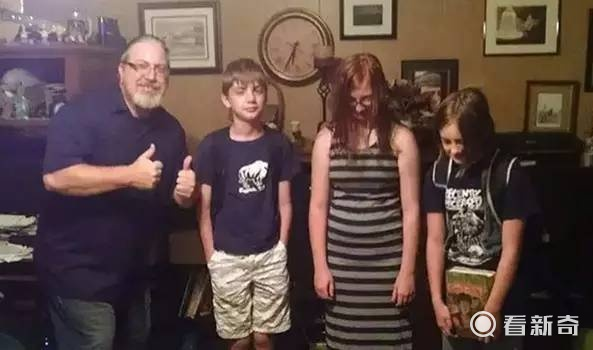 熊孩子开学了 国外的父母要不要表现的这么开心?图片