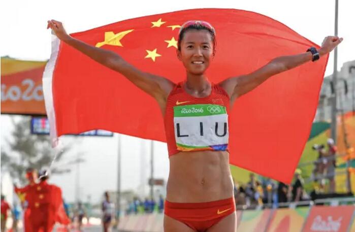 摘金夺银!刘虹获女子20km竞走金牌 花游历史最佳