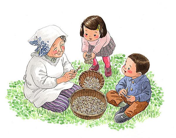 奶奶的土话