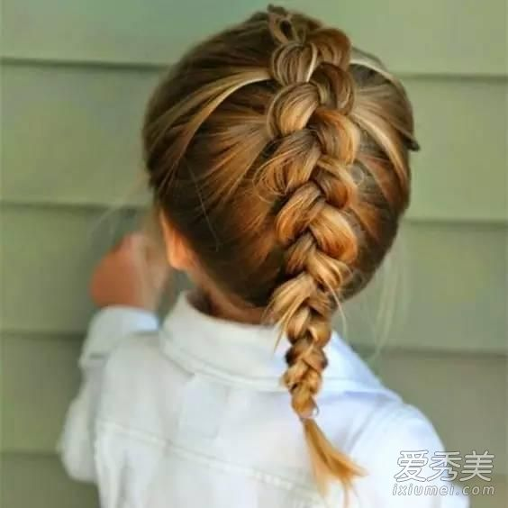 宝宝头发少就不能随便换造型?最全萌娃发型推荐图片