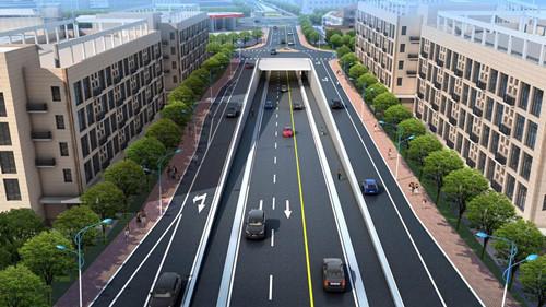 田林路下穿中环地道主体工程今开建 打通断头路