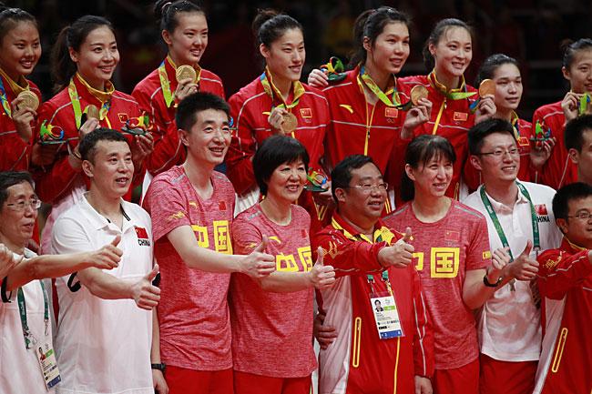 中国女排重返世界第一 美国塞尔维亚名列二三位