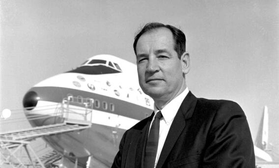 一代巨擘波音747之父乔·萨特去世 享年95岁
