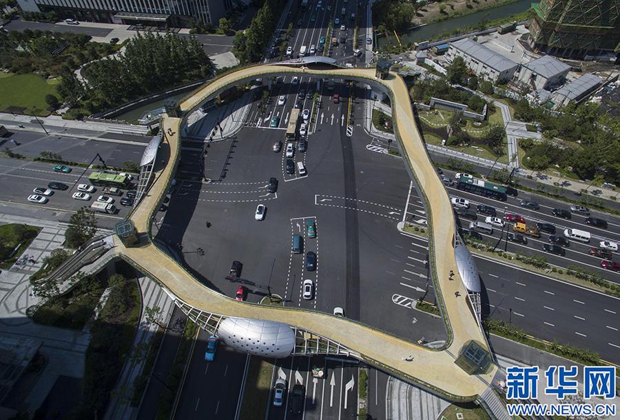 [美丽杭州] 杭州建成首座生态天桥