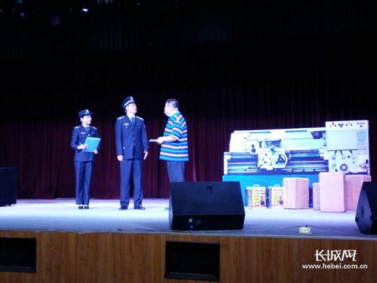 大型安全教育舞台情景剧《平安是福》在石家庄首演,明俪吧