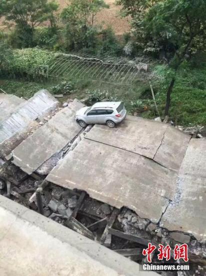 江西泰和坍塌大橋被定性為危橋 事發時正在拆除