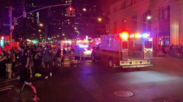 纽约市长:爆炸是人为造成 受伤人数上升至29人
