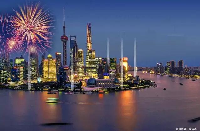 上海浦江两岸又有一波滨江绿地免费开放啦!还将建24座灯塔!