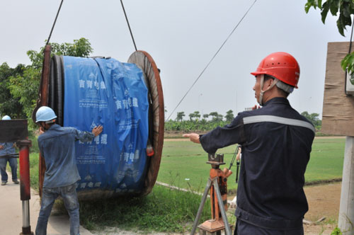 东莞供电局:线路工程助力打造生态旅游景区