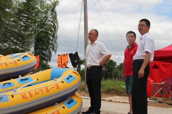 连城县开展漂流场所安全检查