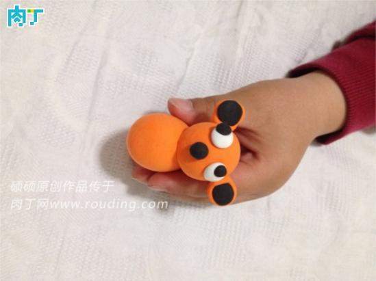 超级可爱的轻粘土斑点狗 儿童创意diy手工小制作