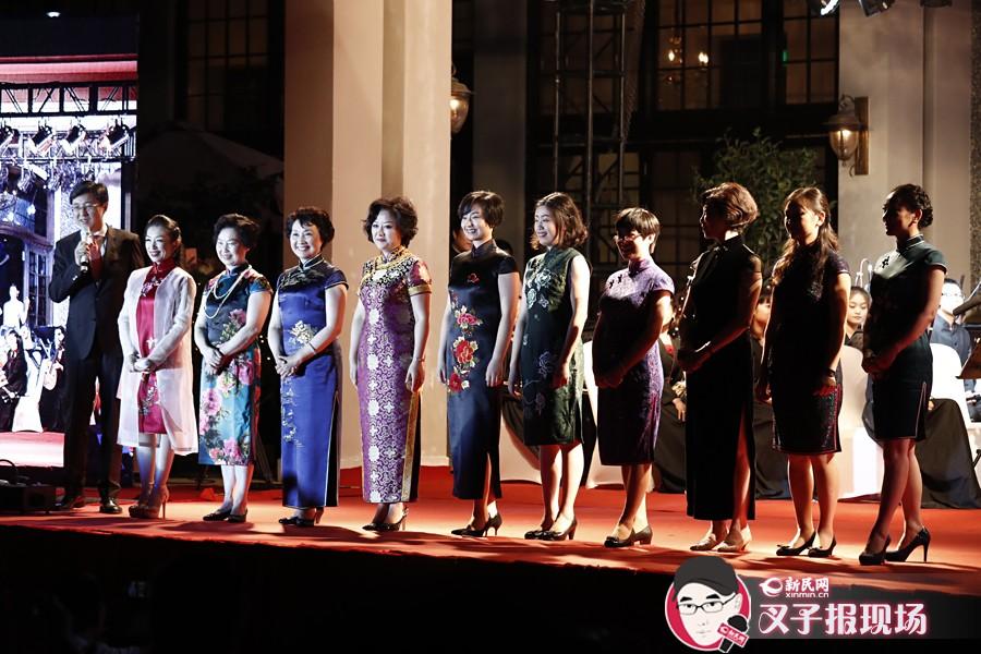 """别有韵味!十位女科学家穿上旗袍秀""""猫步"""""""