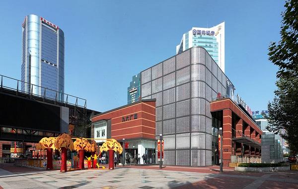 陆家嘴地区新商圈百联世纪购物中心9月28日开业