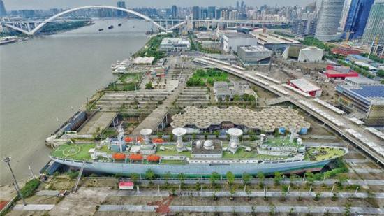 双桥滨江纪行 | 8.3公里黄浦滨江岸线明年贯通 56盏世博火焰灯重新点亮
