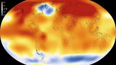 地球表面平均温度图片1