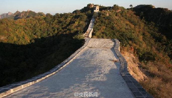 """""""野长城被抹平"""" 国家文物局称有少量添加水泥,你怎么看?"""