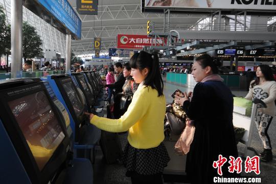 广州白云机场将增设(自助值机集中办理区)