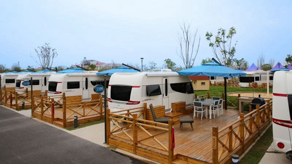 上海首个高标准房车营地十一见客 多营地联动助力深度游