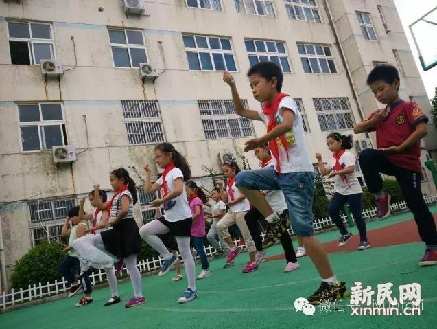 陈家镇小学新学期的陈式太极课程开课啦!