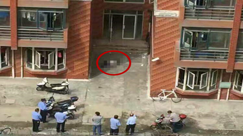 上海理工大学一男子坠楼身亡