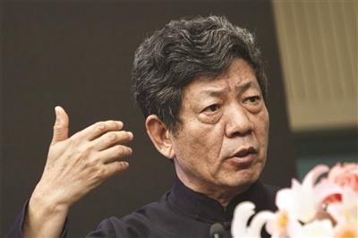 彭林教授演讲。 新华报业集团视觉中心记者 刘莉 摄
