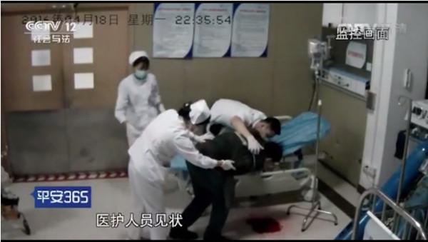 上海十院一医生连续工作32小时吐血不止