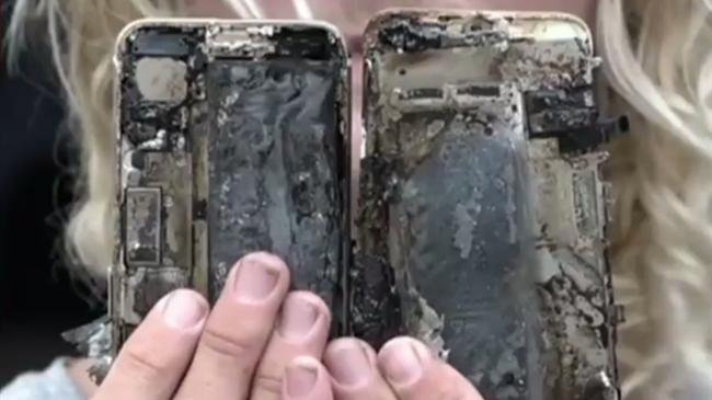 iPhone 7起火机主轿车被烧毁 苹果公司介入调查