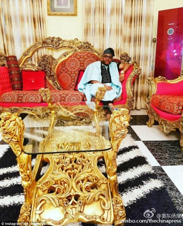 尼日利亚富二代叫板迪拜土豪(组图)