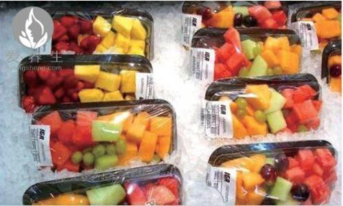 触目惊心 超市烂水果是这样处理的