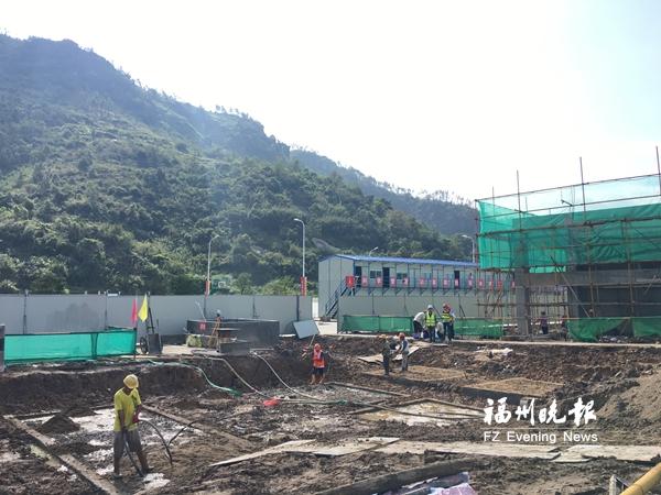 闽侯普洛斯物流项目已完工三分之一 明年5月投用
