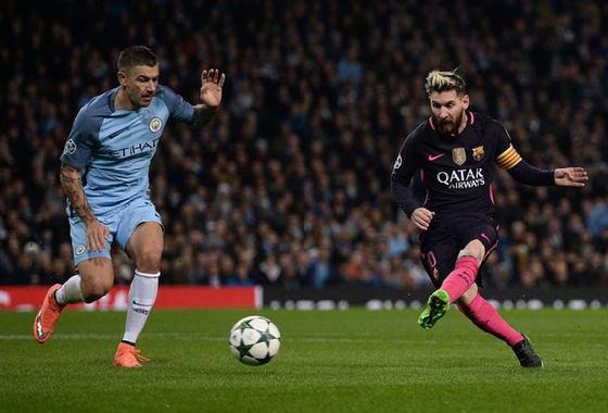 欧冠-巴萨1:3曼城惨遭逆转 梅西进球竟遭背锅图片