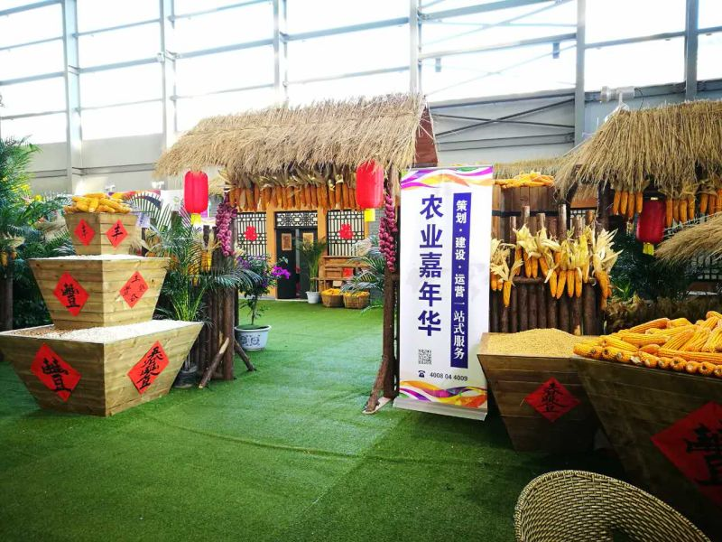 农业嘉年华展区精彩亮相2016国际农交会
