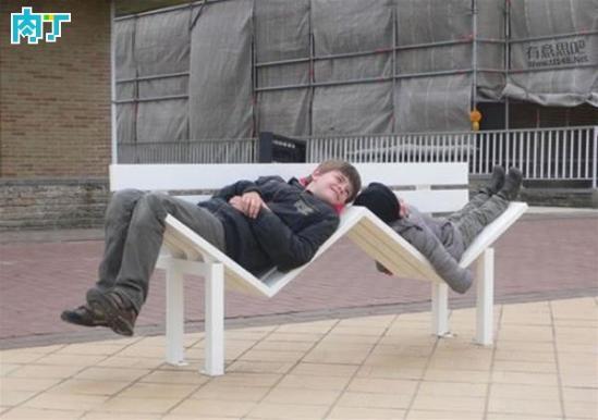 国外设计师城市创意造型公园长椅系列设计作品欣赏