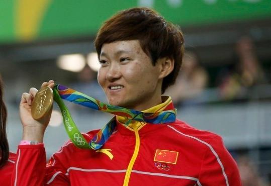 浦东第一个奥运冠军