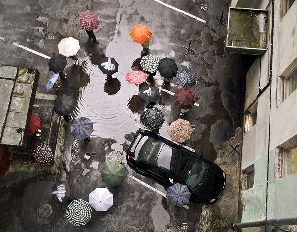 19款创意有趣的雨伞 让你下雨天与众不同