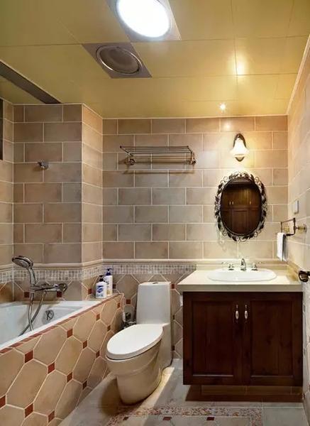 首页 时尚 正文    50款小户型卫生间装修效果图,总有一款是你家的!