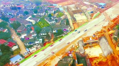 长沙市车站北路隧道封闭段主体完工