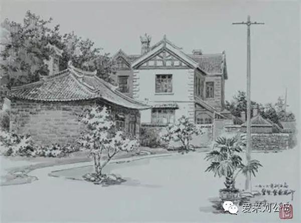 钢笔画大师笔下的刘公岛,你见过吗?