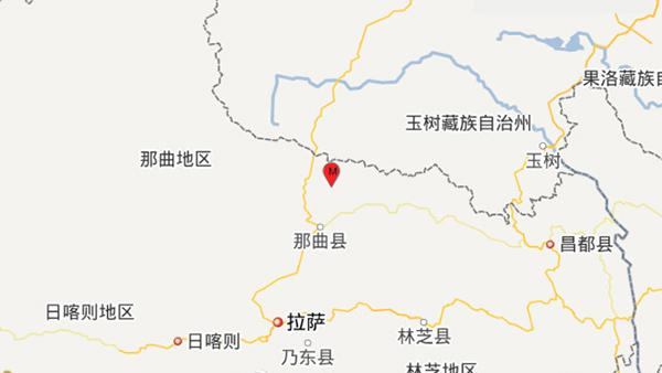 西藏那曲地区聂荣县发生5.1级地震