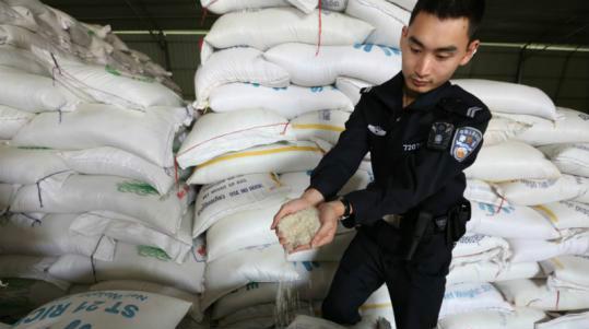 南宁海关破获特大大米走私案 初估案值5000万元