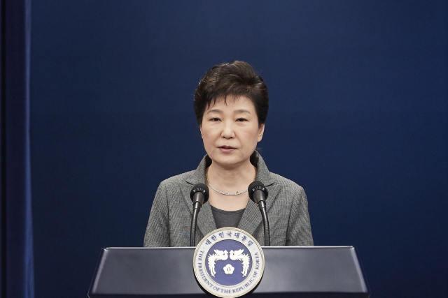 韩媒:朴槿惠或于明年4月下台