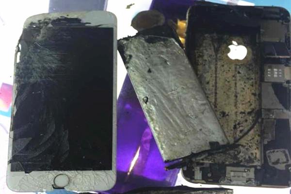 苹果回应iPhone自燃:明显是受过外部物理损坏导致