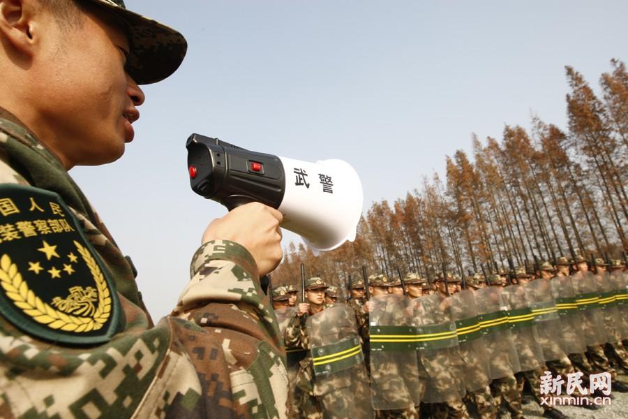 拉练中涉及多个项目。新民晚报新民网 通讯员 袁灵吉 朱博 摄
