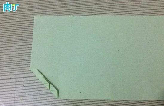 叶子书签的折法步骤教程