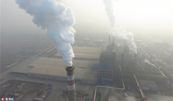 环保部:71城空气质量重度及以上污染 24城启动红色预警