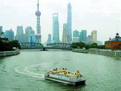 """上海生态环境""""第一工程"""":苏州河的""""复圆水清梦"""""""